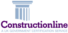 The Constuctionline logo - the link leads to http://www.constructionline.co.uk/static/